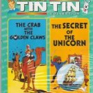 Crab With The Golden Claws/ Secret Of the unicorn - Tin Tin [Dvd] in English