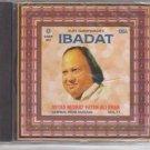 Sufi qawwalies - Ibadat By Ust Nusrat fateh Ali Khan Vol 71  [Cd]  Uk made Cd