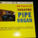 50 Years of Theatre Pipe organ 5 LP Records [Brand New ] Vinyl