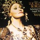 Donizetti - LuCrezia Borgia 3 LP Records -Recorded Aug 1977 [ vINYL ]
