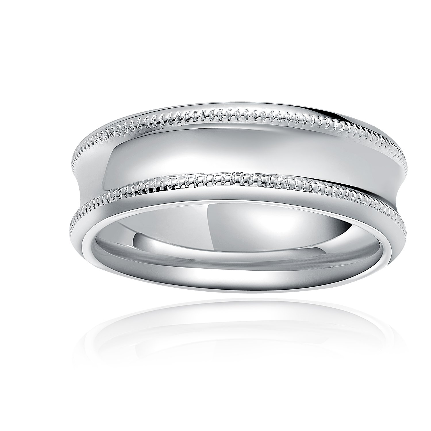 925 Sterling Silver Unique Crafting Baseball Pattern Ring Band / Pendant (Women) A10157R
