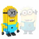 LOZ-9309 100pcs Minions Stuart Plastic Mini Diamond Building Blocks Set DIY Educational Toy