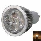 GU10 5W 5 LED 500LM 3000K Warm White Light LED Spotlight Bulb (85-265V)