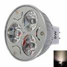 MR16 9W 3200K Warm White Light LED Spot Light Bulb (12V)