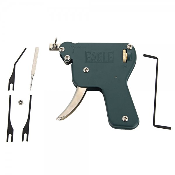 EAGLE AML020028 Stainless Steel Manual Pop-down Lock Pick Snap Gun