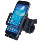 Plastic Biphase Bicycle Phone Universal Holder Black
