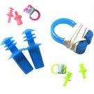 High-quality Swimming Set Waterproof PVC Nose Clip + Earplugs Color Random