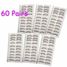 60 Pairs Professional Makeup Fake False Eyelashes Eye Lash Set F005