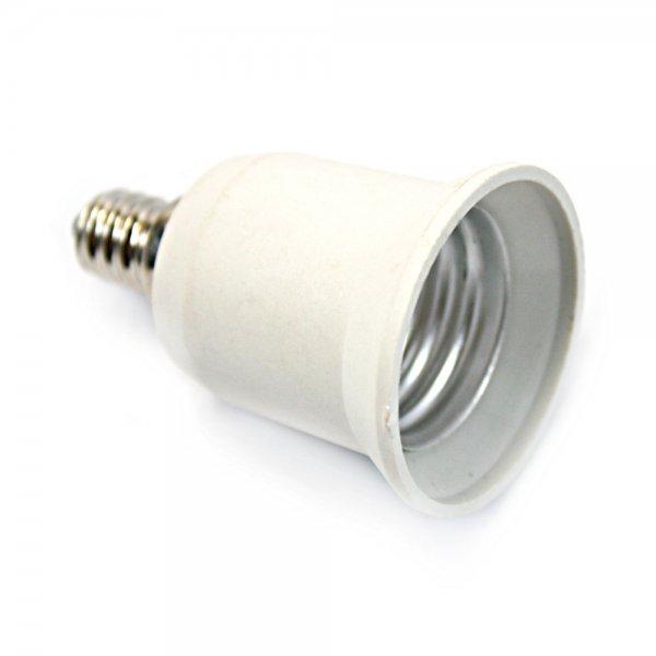 E12 to E27 Candelabra Bulb Lamp Socket Enlarger Adapter