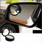3R-012 50mm Glass and Plastic Car Blind Spot Mirror Black Border (Pair)