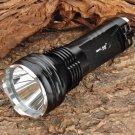 Small Sun ZY-T08 Cree XM-L T6 635lm 5-Mode White Light Flashlight Torch - Black (2 x 18650)