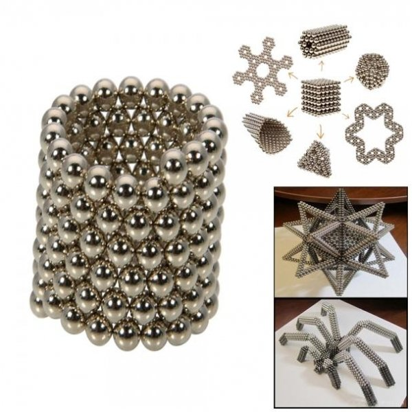 432pcs 3mm DIY Buckyballs Neocube Magic Beads Magnetic