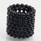 125pcs 5mm DIY Buckyballs Neocube Magic Beads Magnetic Toy Dark Black