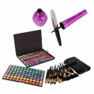 168 Color Eyeshadow and 32pcs Brushes and Eyeliner Makeup Set 06