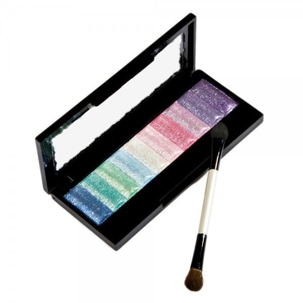 10 Colors Pure Pearly-lustre Baked Powder Eyeshadow Makeup Palette 3#