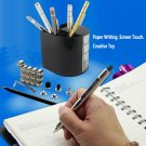 DIY Magnetic Pen with Refill & Steel Balls Silver