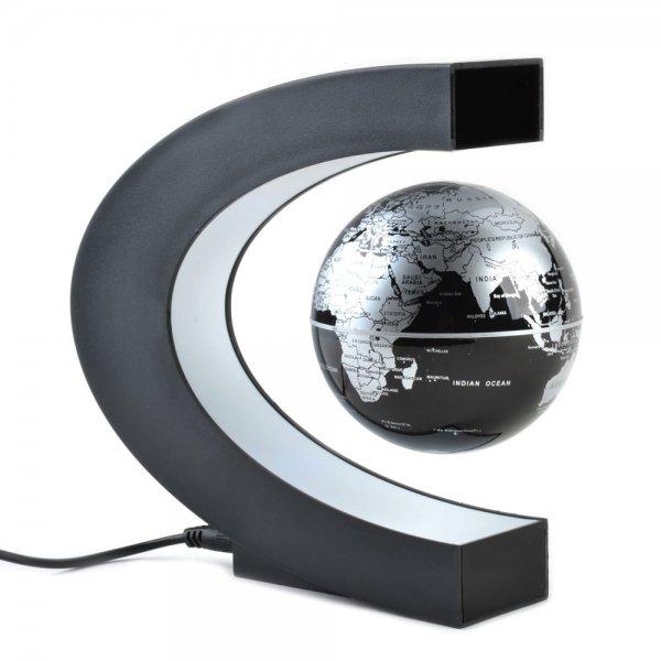 8.5cm DIY Embellishment Rotary Magnetic Levitation Globe