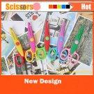 5pcs/set Decorative Wave Lace Edge Craft School Scissors DIY for Scrapbook