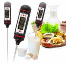 -50℃~300℃ WT-1 LCD Digital Probe Meat Milk Food Thermometer Kitchen Cooking Thermometer Black