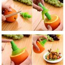 Lemon Juice Sprayer Citrus Spray Hand Fruit Juicer Mini Squeezer Lime Tool Green