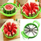 Big Size Stainless Steel Apple Watermelon Cutter Melon Slicer Kitchen Fruit Divider Tools