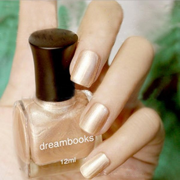 Dream Books Oily Nail Polish Environment Nail Polish Nude 12ml