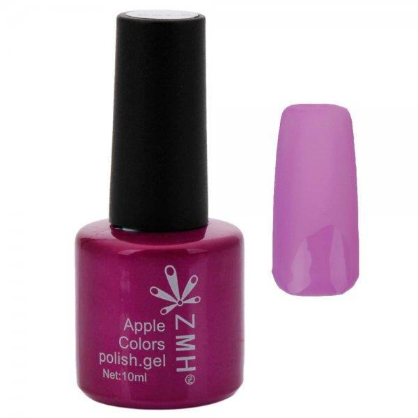 8mL 3-in-1 Quick Drying Long-lasting UV Gel Nail Polish Purple