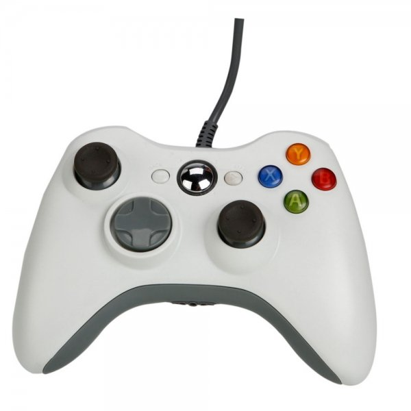 Wired Game Controller for Xbox 360 / PC White