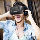 """Lightweight Virtual Reality 3D VR Glasses for 4.7-6"""" Mobile Phone Black"""