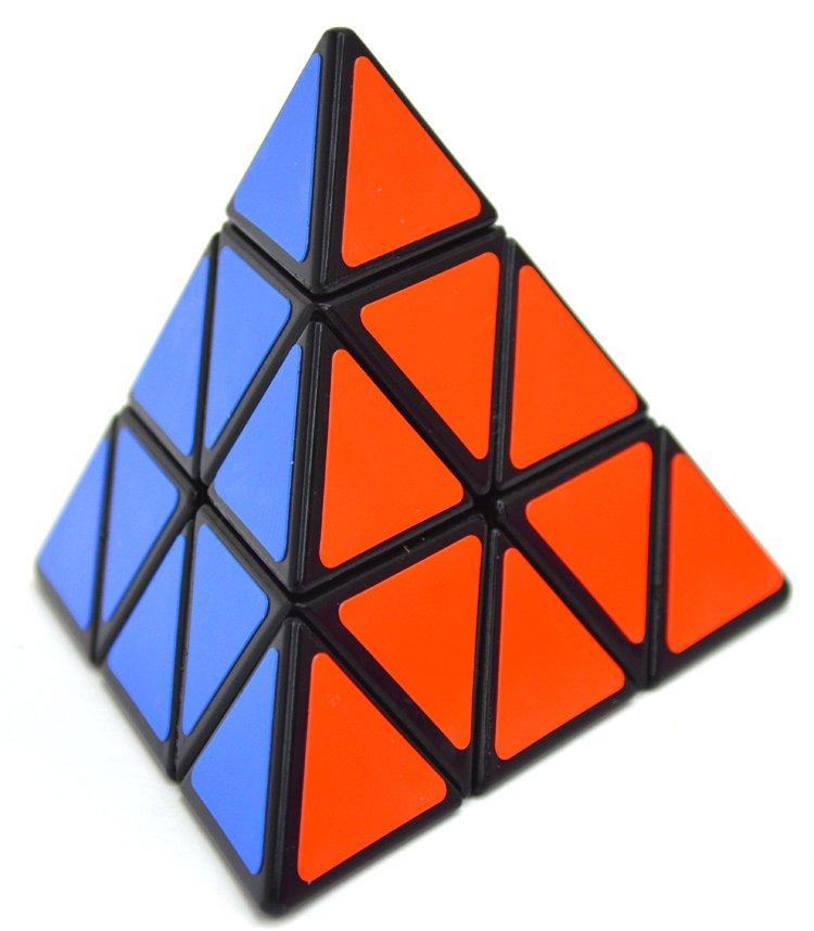 3x3x3 Triangle Magic Pyramid Speed Cube Pyraminx Twist Puzzle Rubik Intelligence Toy