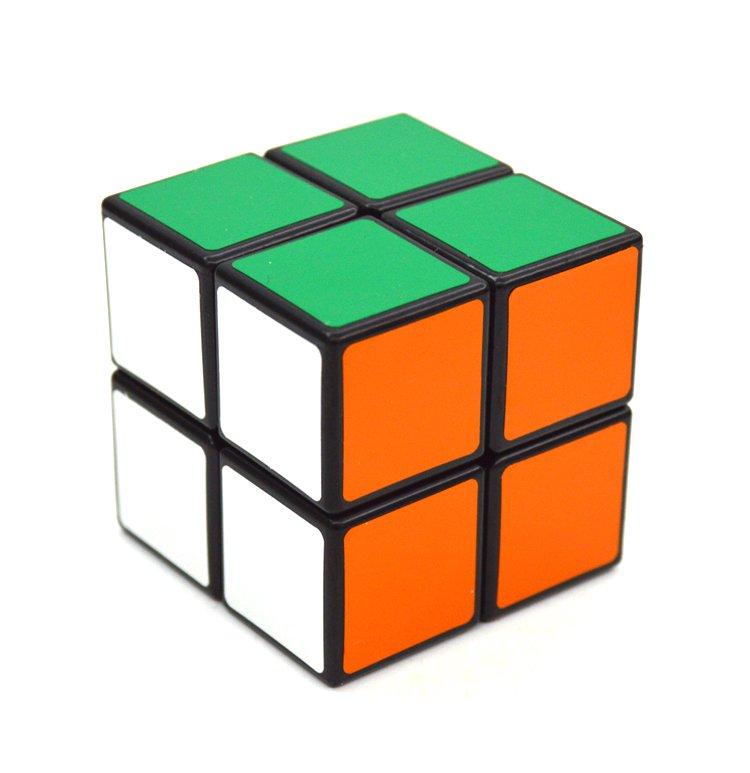 2x2x2 Pocket Rubik's Cube Magic Speed Cube Twist Puzzle Rubik Intelligence Toy