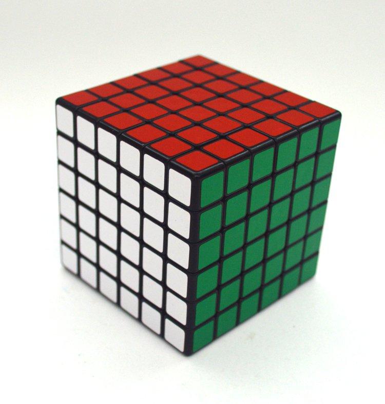 6x6x6 Ultra-smooth Professional Speed Cube Twist Puzzle Rubik Intelligence Toy
