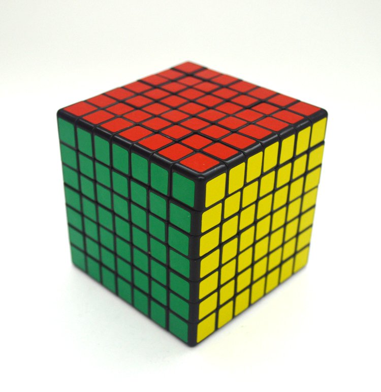 7x7x7 Ultra-smooth Professional Speed Cube Twist Puzzle Rubik Intelligence Toy