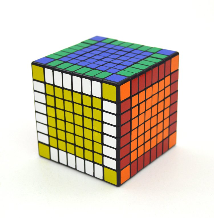 8x8x8 Ultra-smooth Professional Speed Cube Twist Puzzle Rubik Intelligence Toy