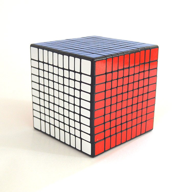 10x10x10 Ultra-smooth Professional Speed Cube Twist Puzzle Rubik Intelligence Toy