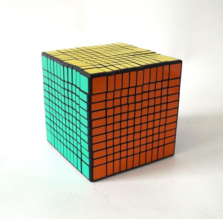 11x11x11 Ultra-smooth Professional Speed Cube Twist Puzzle Rubik Intelligence Toy
