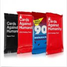 Cards Against Humanity 90s Nostalgia Pack, 2013 Holiday, 2012 Holiday and Reject Pack
