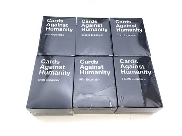 Cards Against Humanity Party Game 1-6 Expansion Packs
