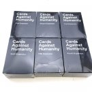 6pcs/set Cards Against Humanity Party Game 1 2 3 4 5 6 Expansion Packs