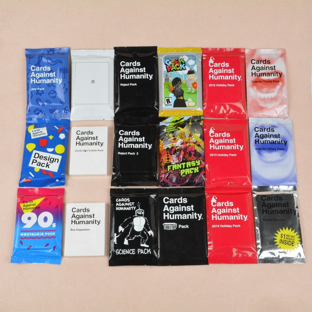Cards Against Humanity Mini Pack Expansions Full Set - 18 Packs