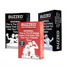 Buzzed - This is The Drinking Game That Gets You and Your Friends Tipsy! + Expansion