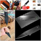10pcs Credit Card Shape Knife Wallet Folding Safety Knife Pocket Camping Hunting Knife