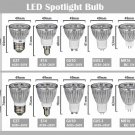 5pcs E14/E27/GU5.3/GU10/MR16 LED Spotlight Bulb 3W (AC85V-265V)