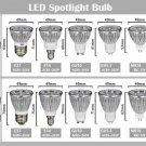 5pcs E14/E27/GU5.3/GU10/MR16 LED Spotlight Bulb 5W (AC85V-265V)