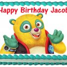 Edible SPECIAL AGENT OSO image cake topper 1/4 sheet (10.5 x 8 inches)