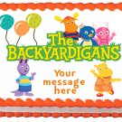 "Edible THE BACKYARDIGANS image cake topper 1/4 sheet (10.5"" x 8"")"