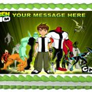 "Edible BEN 10 image cake topper 1/4 sheet (10.5"" x 8"")"