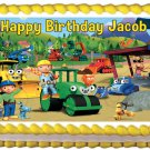 "Edible BOB THE BUILDER image cake topper 1/4 sheet (10.5"" x 8"")"