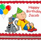 "Edible CAILLOU image cake topper 1/4 sheet (10.5"" x 8"")"