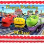 "Edible CHUGGINGTON image cake topper 1/4 sheet (10.5"" x 8"")"